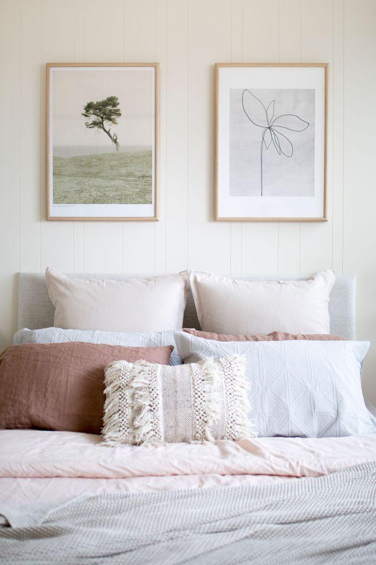 Easycraft   Easygroove random bedroom feature  Decorative wall panelling