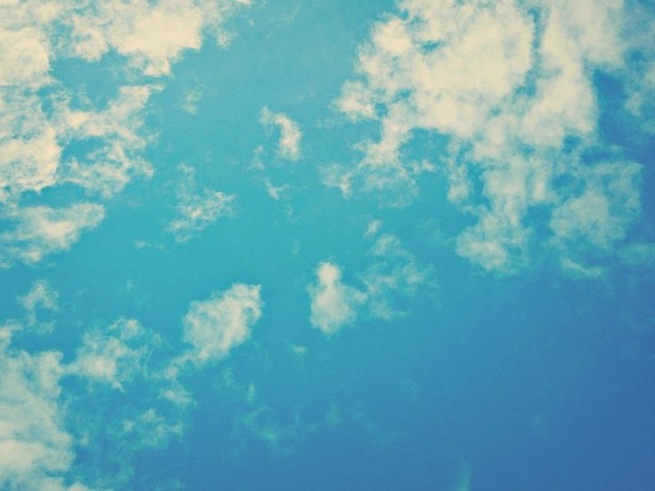 watching the clouds float across the sky, is by no means a waste of time