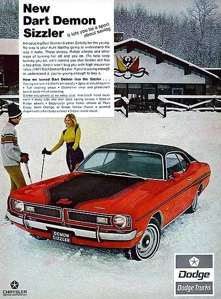 1971 Dodge Charger: 1971 Dodge Dart Demon