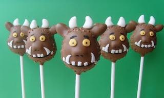Gruffalo cake pops!