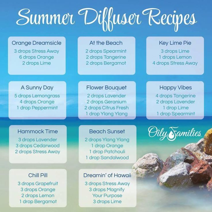 Summer Diffusing Recipes...Ready to Sail Away! With Young Living Essential Oils #essentialoils #diffuserrecipes #readyforsummer