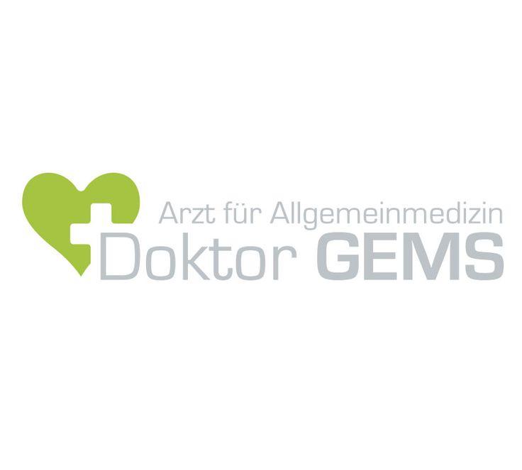 Dr. Gems / Arzt für Allgemeinmedizin: Logoerstellung by www.pinzweb.at