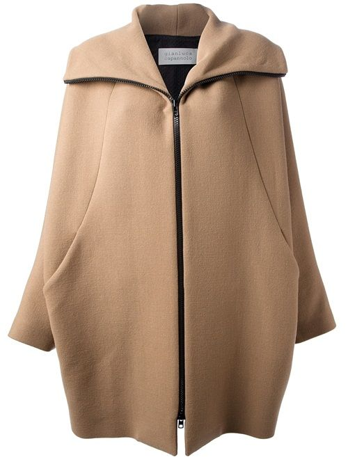 Gianluca Capannolo 'Iris' Overcoat  Shop it on dolcitrameshop.com #GianlucaCapannolo #camel #coat #aw13 #newin #newcollection #fashion #editorpick #style #ootd #womenswear #womenstyle