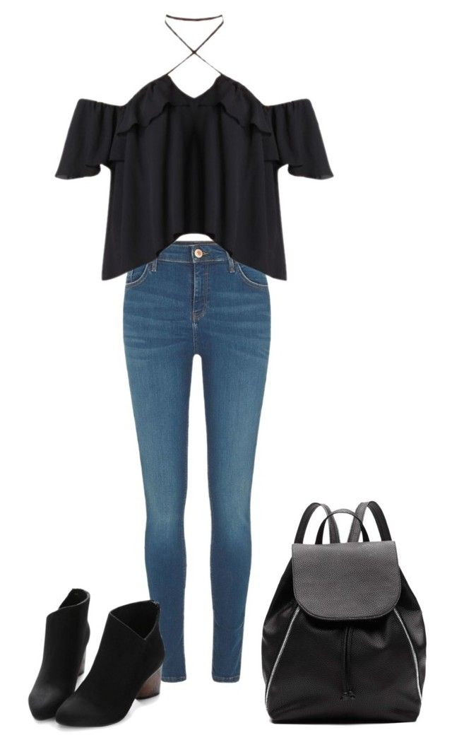 """Untitled #20"" by alexia-nistor on Polyvore featuring River Island and Witchery"