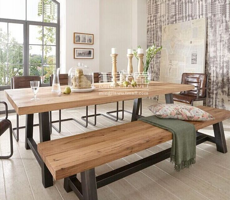 29 best dining tables images on pinterest contemporary for Mesas para restaurante
