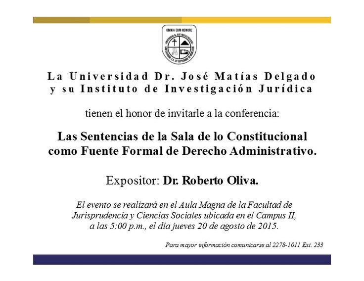 Las Sentencias de la Sala de lo Constitucional  como Fuente Formal de Derecho…