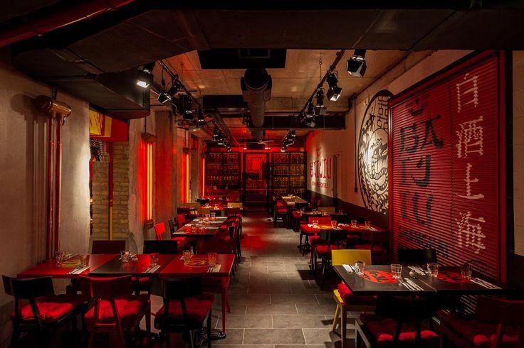 Spíler Shanghai http://spilerbp.hu/index_hu_sh.php | Belső tér #budapest #design #bar #spílershanghai #restaurantdesign #IndoorFurniture #RestaurantFurniture #bistro #pub