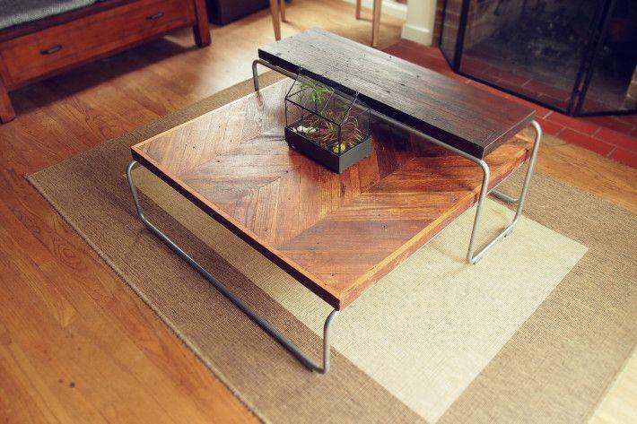 reclaimed-oak-flooring-and-mahogany-coffee-table-set-2