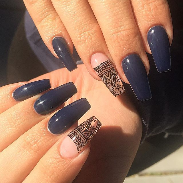 25+ Best Ideas About Henna Nails On Pinterest