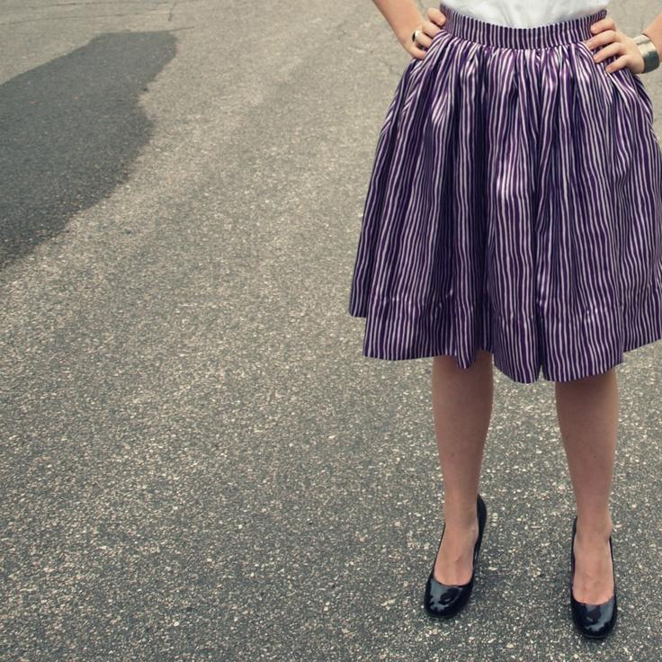 Very Gathered Skirt // DIY