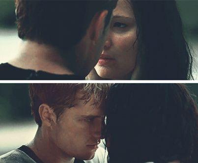 ♥ Catching Fire - Peeta and Katniss