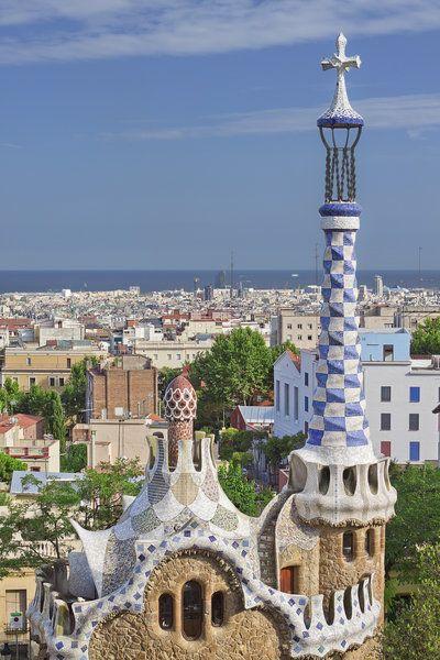 Barcelona Cityscape by lesogard.deviantart.com