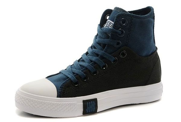 Double Upper High Top Dark Blue Black Chuck Taylor All Star Sneakers [148874] - $60.00 : Canada Converse, Converse Ofiicial in Ontario