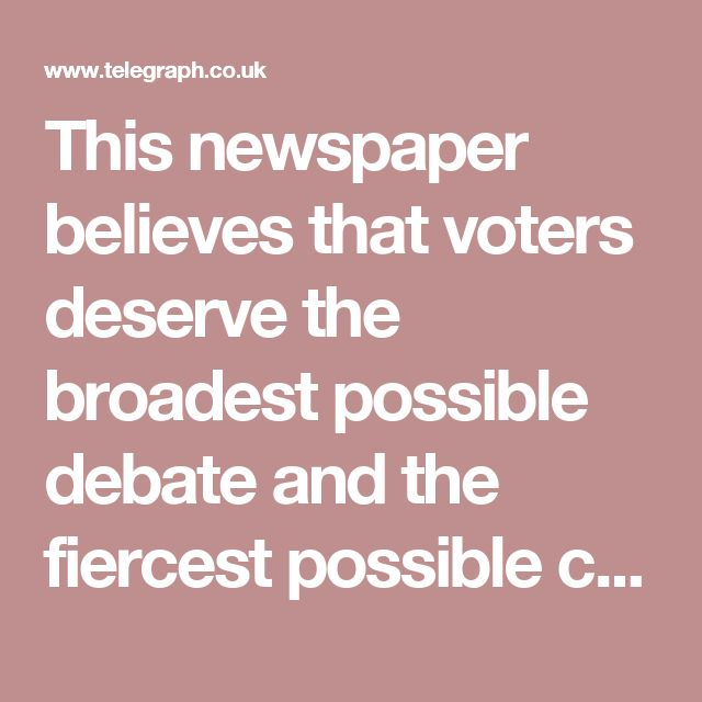 This newspaper believes that voters deserve the broadest possible debate and the fiercest possible contest of ideas, for only such a contest can test each side's case to the full. So far, Vote Leave is not fighting as fiercely as it should but there is still a month to go and all to play for.