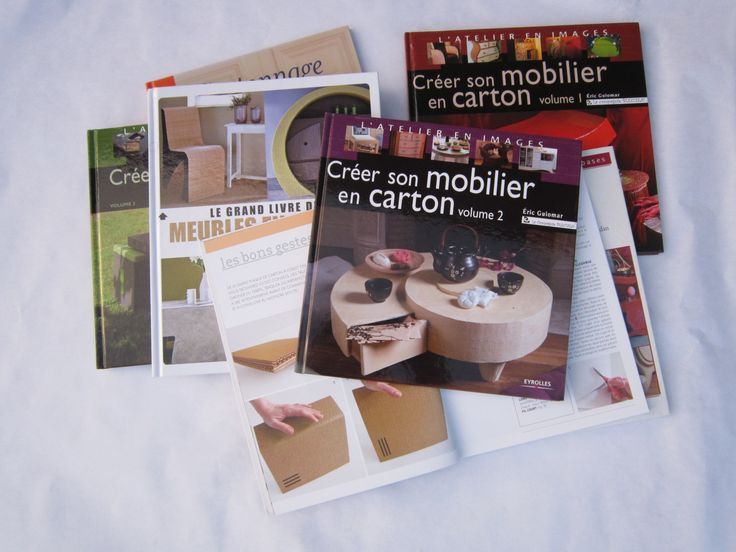 livres sur les meubles en carton endroits visiter pinterest livres. Black Bedroom Furniture Sets. Home Design Ideas
