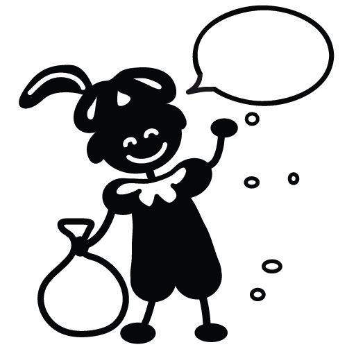Stempel Zwarte Piet