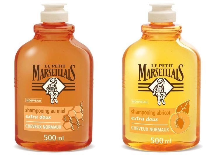 """Le Petit Marseillais - Shampooing """"Miel et Abricot"""" sans paraben, sans silicone"""
