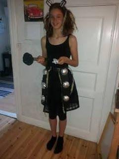 Saskia's knutsel blog: Dalek Costume
