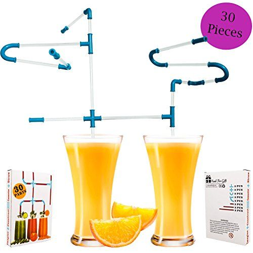 From 1.59:Best Selling Novelty Gift Diy Straws 30 Pieces - Great Christmas Stocking Filler Office Gift Boys Girls Kids Boyfriend Girlfriend - Need For Gift