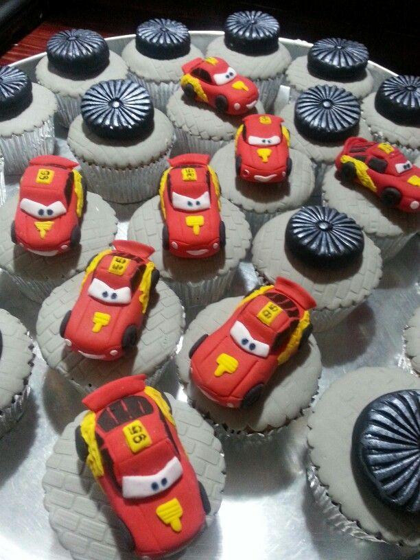 Cars cupcakes theme