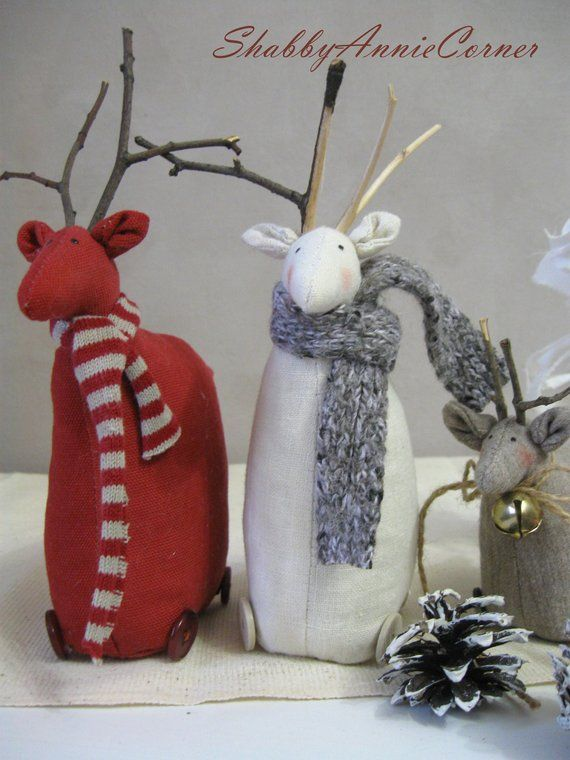 Scandinavian Christmas decorations Christmas Gnomes and deer Nordic