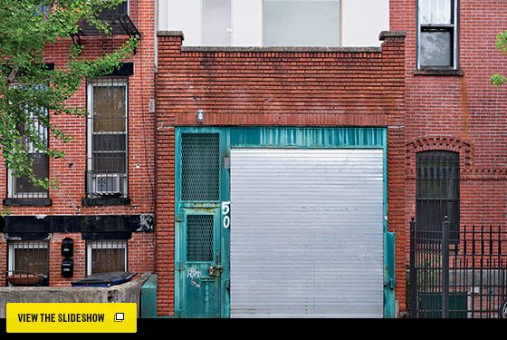 Garage living clinton hill story house and industrial for Garage with living space kits