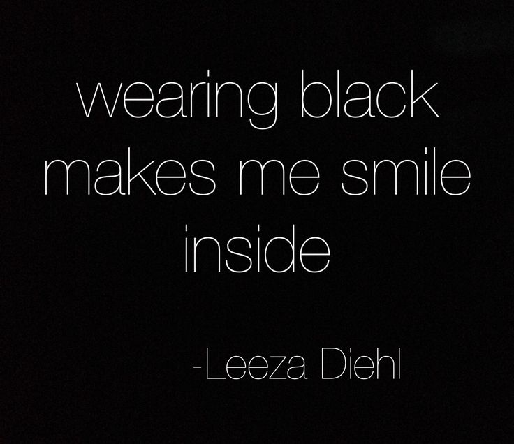 #black #noir