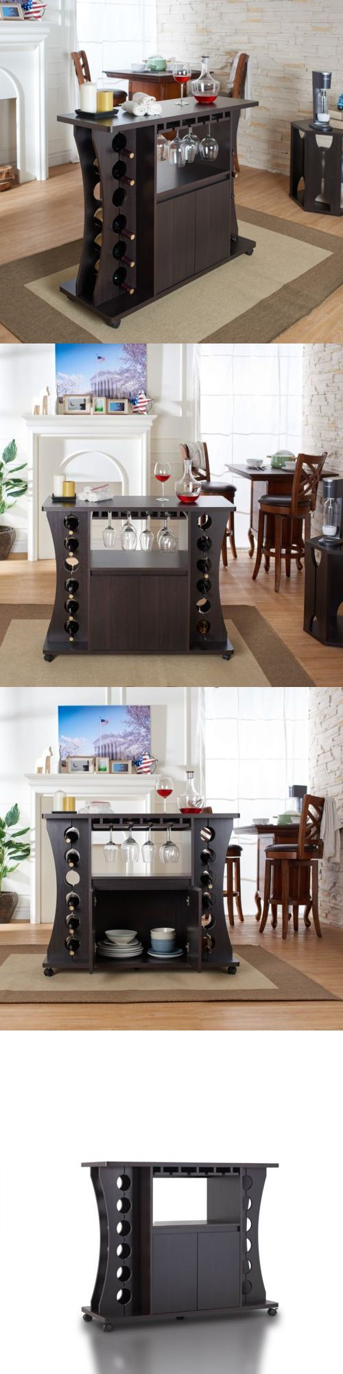 Sideboards And Buffets 183322 Home Bar Furniture Set Buffet Table With Wine Rack Servers Cabinet