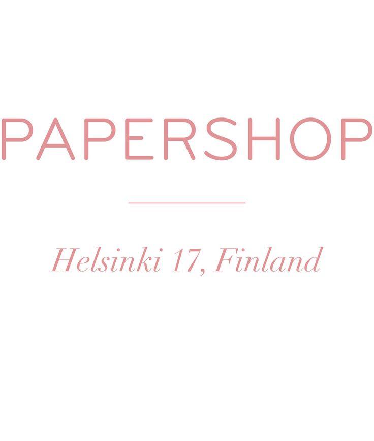 papershop : http://papershop.fi/