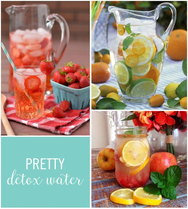 From Citrus Cucumber Detox Water to Blueberry Orange Water, all of these refreshing and healthy recipes will keep you feeling energized.