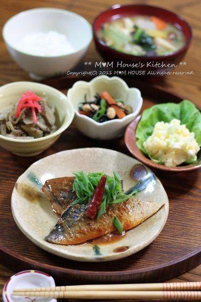 鯖のコチュジャン味噌煮と 常備菜の献立♪ by manaさん | レシピブログ ...