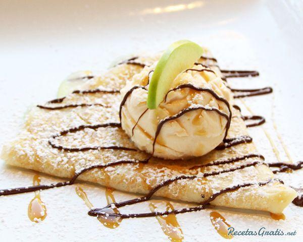 Aprende a preparar crepas dulces con esta rica y fácil receta.  Las crepas, también conocidas como crepes, son un postre de origen francés que se elaboran a partir d...