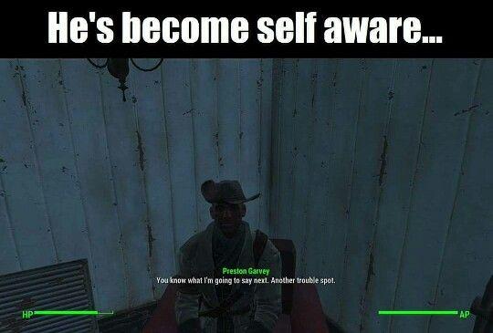 Fallout 4 Preston Garvey Fallout Pinterest Fallout