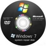 Crear disco de reparación de Windows 7 | 1gb de información