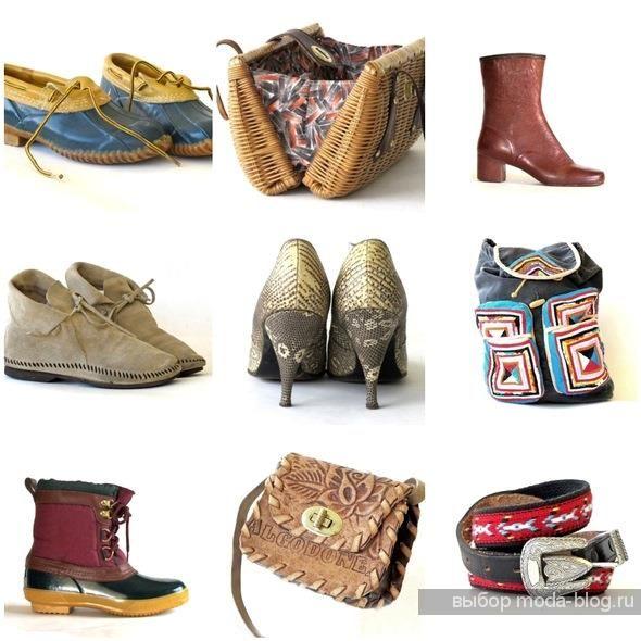 Купить винтажная обувь