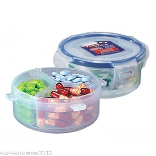 4.7oz / 140mm, W/ 3dividers, LOCK N LOCK Food Storage Container,
