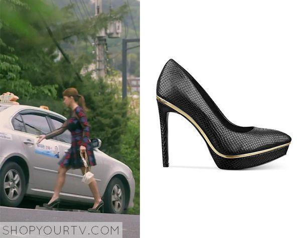 Witch's Romance: Episode 7 Ban Ji Yeon's Black Heels - ShopYourTv