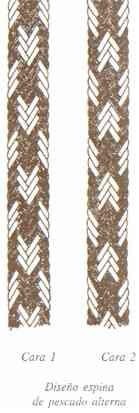 Cordones wayuu tecnicas