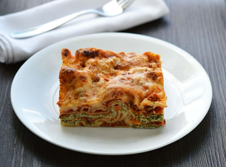 Speedy spinach lasagna.  Double cheese, double love! #CDNcheese #simplepleasures