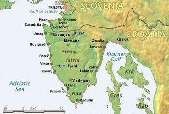 Istria Map