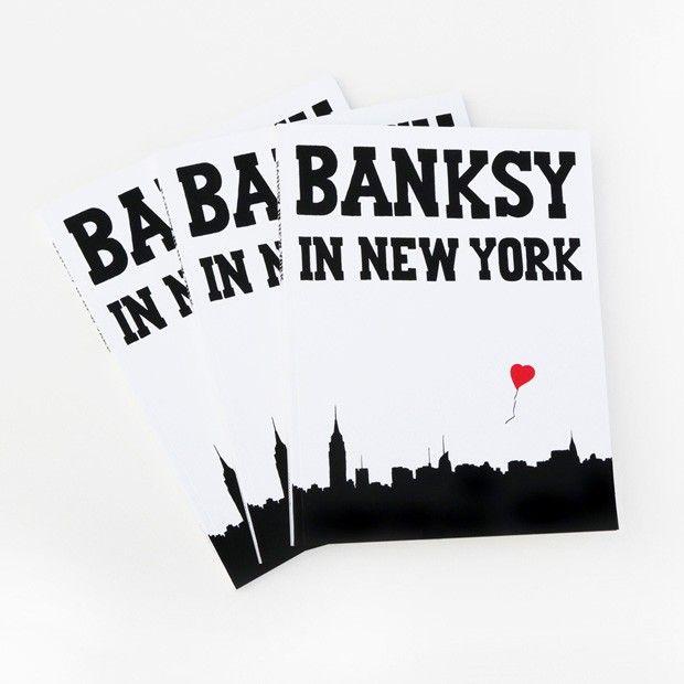 Livro mostra impacto da passagem de Banksy por Nova York
