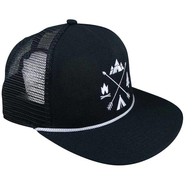 X-Arrows Trucker Hat (All Black)                                                                                                                                                     More