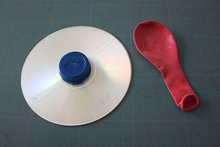 L'aéroglisseur CD