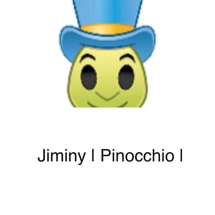 My 21st Disney Emoji: Jiminy Cricket