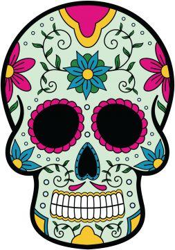 Les 25 meilleures id es de la cat gorie gabarit tete de mort halloween sur pinterest - Decoration mexicaine a imprimer ...