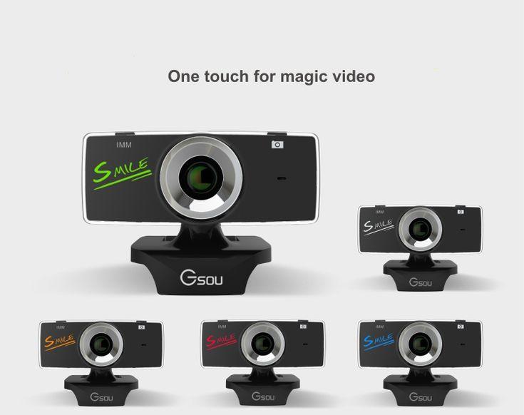 Mini USB 2.0 webcam hd Webcam Camera Web Cam Pixel Camera cheap webcam with microphone For Skype Computer PC Laptop gucee //Price: $17.88//     #electonics