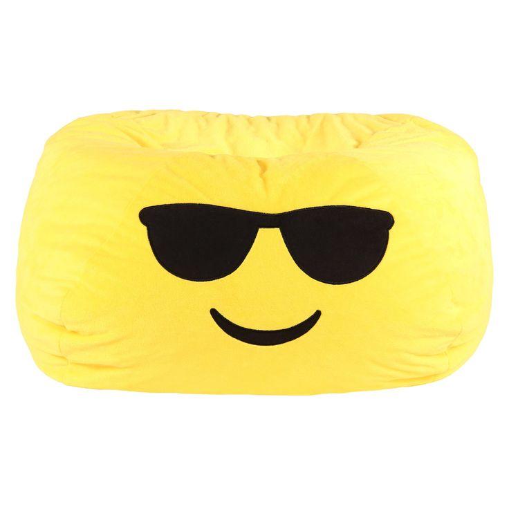 Kids Cool Bean Bag Chair - Yellow -GoMoji