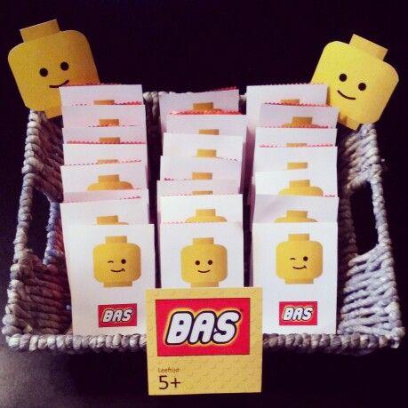 Lego feestje - traktatie school