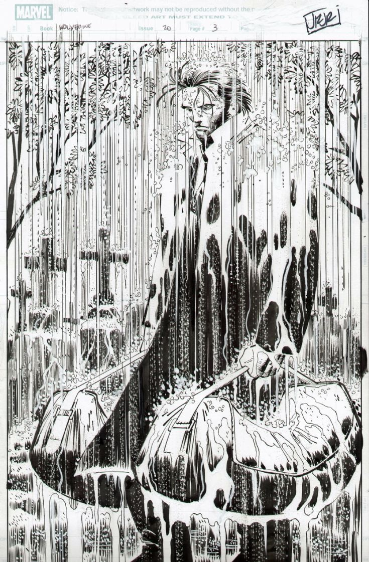 Wolverine #20, page 3 Comic Art