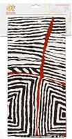 Warlukurlangu Teatowel Cotton - 47cm x 73cm Artist: Judy Watson Code: TT35 Price: $12.00 or 2 for $22.00